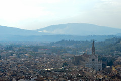 (ola_alexeeva) Tags: firenze florence italy   exploring  mountains  city view panoramic    architecture italian  basilica red roofs