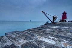 Poolbeg Lighthouse II... (fotobyanna) Tags: thegreatsouthwall poolbeglighthouse dublin photography canon 750d irishsea lighthouse redlighthouse annaorourkephotographycom greystonescameraclub