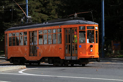 'Peter Witt' Trolley (Hawkeye2011) Tags: sanfrancisco transport california usa 2016 streetcar railway train fline peterwitt trolley milan
