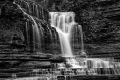 Cummins Falls, monochrome (John C. House) Tags: everydaymiracles nik nikon waterfall blackandwhite motion water johnchouse tennessee cumminsfalls monochrome d810 longexposure aurora
