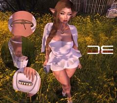 Detached - OOTD - Fashion quickie (Ai Venus Kouyama) Tags: sl secondlife fashion style quickie linden labs avatar elf tumblr blog