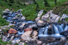 River stream (Abhijit B Photos) Tags: mountrainier mountrainiernationalpark water us usnationalparks flowingwater long exposure silky smooth nature naturalbeauty nationalparks washington outdoor peaceful