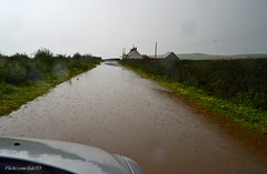 (Zak355) Tags: rothesay isleofbute bute scotland scottish flooded flood weather rain water ettrickbay road