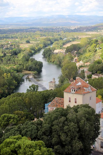 The Orb valley, Beziers