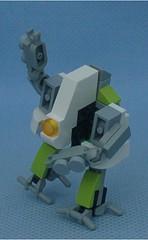 Lime Ostrich (Mantis.King) Tags: kreo lego legogaming legomecha moc mechaton mobileframezero mfz mf0 microscale mecha mech scifi futuristic wargames ostrich