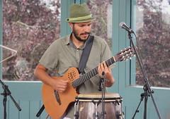P De Jurema (2016) 12 (KM's Live Music shots) Tags: worldmusic brazil maracatu ciranda forr pdejurema fernandomachado acousticelectricguitar guitar festivalofbrasil hornimanmuseum