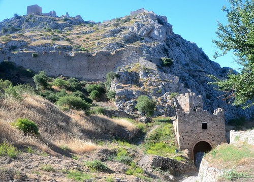 Acrocorinth Byzantine Fortress