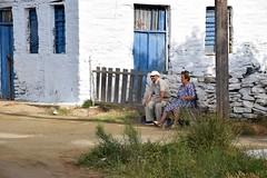 il fresco del mattino (ermyale) Tags: grecia andros cicladi anziani