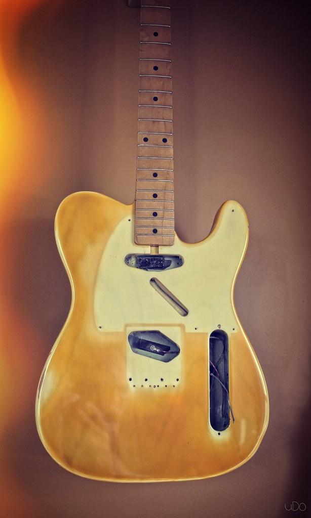 vintage refinish telecaster performance