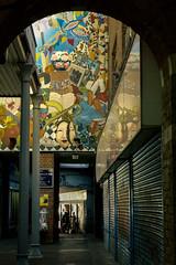 A hint of Lewis Caroll (IsadeRoys) Tags: london tags street art tube