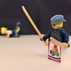 The moment when you take a photo of your MOC and forget to clean up the background (Maciej Drwiga) Tags: lego