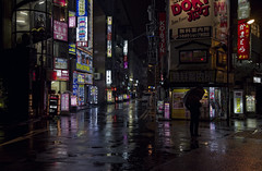 Tokyo 4048 (tokyoform) Tags: 6d asia bladerunner calle canon chris jongkind chrisjongkind cidade citt city dark giappone gotham japan japanese japon japo japn jepang kanda modern neon night people rain rue sign strase street tokio tokyo tokyoform tquio tkyto umbrella urban ville