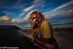 Hurricane Matthew (Heidi Zech Photography) Tags: jamaica hurricane hurricanematthew rasta colouredlocks dreadlocks sunset sky musician jamaicanmusician bassist slybass slybassie