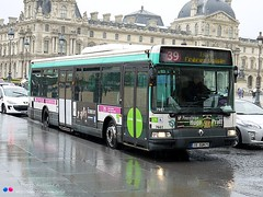 Renault Agora S RATP n7661 (Pi Eye) Tags: paris bus renault autobus iledefrance agora ratp parisien rvi irisbus stif agoras vertjade