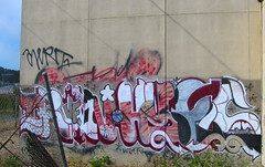 Iron, Hypes (Oakland Stroke) Tags: graffiti us san francisco drugs hype hyper alert vf kcm