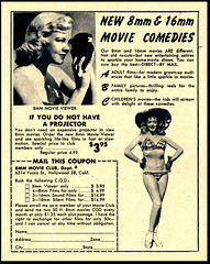 8mm Movie Club Hollywood (Harald Haefker) Tags: promotion club vintage magazine ads movie print advertising pub publicidad reclame ad retro anuncio advertisement nostalgia hollywood 1950s advert 1956 werbung 8mm publicit magazin reklame affiche publicitario pubblicit rclame pubblicizzazione