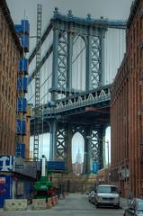 I Spy... Something Beginning with E (JB_1984) Tags: nyc newyorkcity bridge usa ny newyork tower brooklyn skyscraper unitedstates dumbo manhattanbridge empirestatebuilding bigapple hdr highdynamicrange