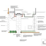 Presentation Plan, Mercers Rd, Front Garden, 2013