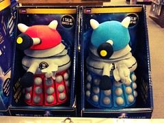 Fuzzy Daleks. #exterminate (gorskic) Tags: exterminate uploaded:by=flickrmobile flickriosapp:filter=chameleon chameleonfilter