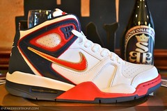 Nike Air Flight Falcon 'Olympic' (TheMasterTrader5) Tags: flowers justin l
