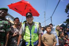 (kuuan) Tags: indonesia photographer portait ceremony police mf yogyakarta manualfocus 15mm kota voigtlnder gede superwideheliar aspherical gunungan voigtlnderheliarf4515mm