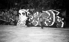 Singapore Graffiti (Bis repetita) - Somerset Skate Park - Singapore (waex99) Tags: park street leica test screw singapore kodak tmax somerset mount skate 100asa industar serenar iiic 50mmf35 135mmf4 graffoti