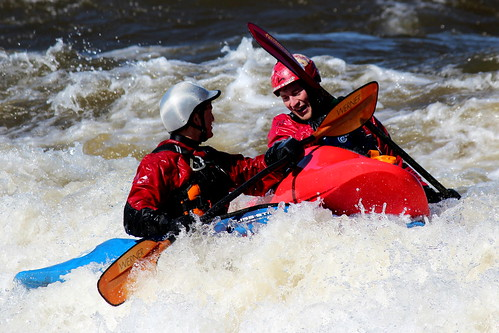 New Reality Show: Kayak Wars at Bate Island!