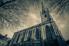 St Alkmunds Church Shrewsbury (Scott Cartwright Photography) Tags: old sepia canon moody branches gothic spooky canoneos professionalphotographer shrewsburytown canoncameras stalkmundschurch canon7d scottcartwright shrewsburyphotographer shropshirephotographer shrewburyfreelancephotographer scottcartwrightphotography shropshirefreelancephotographer shrewsburyprofessionalphotographer