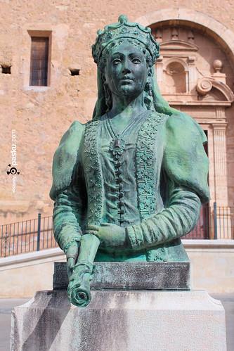 La reina Maria de Luna