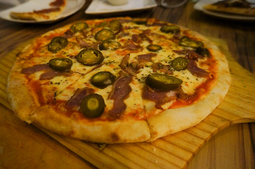 DSC05219墨西哥辣椒鴨腿披薩