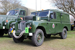 M0012-Riverside. (day 192) Tags: riverside military landrover southport banks steamrally militaryvehicle series3 transportshow transportrally preservedmilitaryvehicle riversidesteamvintagevehiclerally a558dwb