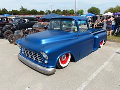 1955 chevrolet pickup (bballchico) Tags: chevrolet 1955 truck pickup austintexas custom carshow kustom lonestarroundup ronniepalacios lonestarroundup2013