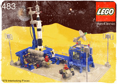 483 Alpha One. (Fazoom) Tags: classic 1 lego space rocket neo alpha base ncs 483