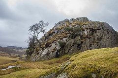 Hunting for Snow White (3) (Walks in Dreams) Tags: england walking landscape ancient lakedistrict cumbria mysterious langdale pagan neolithic littlelangdale castlehowe prestondistrictwalkingclub kevincjpoole