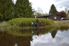 Guests enjoying the wetland. (BCWF Wetlands Education Program) Tags: bc britishcolumbia environmental wetlands restoration langley wetland citizenscience bcwf townshipoflangley langleyenvironmentalpartnerssociety
