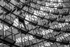 Little boxes on the hillside (viz photo) Tags: bw reflection berlin window blackwhite fenster finestra sonycenter spiegelung biancoenero riflesso potzdamerplatz berlino laviz archiref vizphoto vizphoto