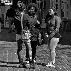 P1220022 (Akbar Simonse) Tags: girls people urban bw holland blancoynegro stockings monochrome panties boots zwartwit candid nederland streetphotography denhaag torn kousen straatfotografie dedoka akbarsimonse