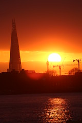 The Shard (The P/T Clicker!) Tags: sunset london greenwich shard the