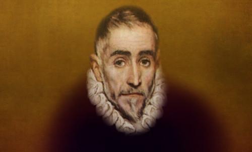 """Hidalgo Ibérico, expresión de Doménikus Theokópoulos el Greco (1597), transcripción de Pablo Picasso (1971). • <a style=""""font-size:0.8em;"""" href=""""http://www.flickr.com/photos/30735181@N00/8746815133/"""" target=""""_blank"""">View on Flickr</a>"""