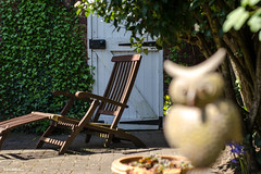 Gateway to Freedom ... (BGDL) Tags: garden gate owl lounger nikond7000 ourdailychallenge bgdl nikkor50mm118g elementsorganizer11