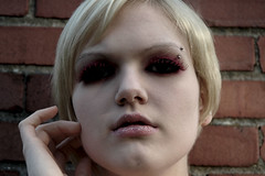 12b (RebeccaLynnPhotography8) Tags: pink portrait female photoshop makeup cannon expressive editing piercings artistry