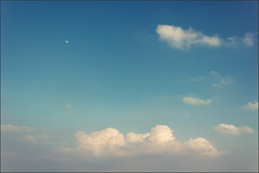 Caution To The Wind (greySea Creations) Tags: sky moon clouds canon scape t3i