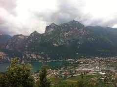 View down to Riva from Monte Brione (Crystal Summer) Tags: mountain riva walk monte limone brione