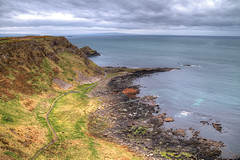 Giant's Causeway - Northern Ireland ([MicuRadu]) Tags: uk sea castle giant landscape coast northern hdr causeway
