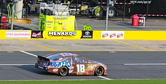 Kyle (monkey1611) Tags: car racetrack race racecar nc northcarolina racing snickers nascar toyota 18 allstar camry racecars jgr kylebusch charlottemotorspeedway joegibbsracing 2013 pitroad allstarscheme