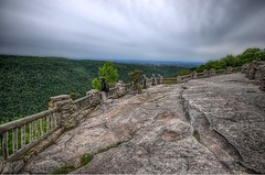 The early bird gets the worm (dxd379) Tags: nikon lookout westvirginia hdr coopersrock cheatlake d5000