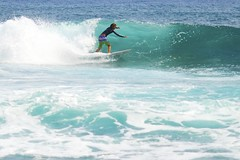 Surfing (Joshishi) Tags: ocean blue sea water hawaii nikon surf waves pacific oahu board surfing sandybeach d800 105mmf28dmicro