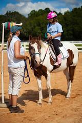 Strike a Pose (ktruluck) Tags: horses horse smart florida pony disabled ponies fl volunteer fla horseback bradenton equine nonprofit mentally physically pathcertified sarasotamanateeassociationforridingtherapy