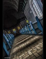 walk down the aisle (geka_photo) Tags: gekaphoto pln schleswigholstein deutschland kirche hochzeit schrg geschmckt blau heirat