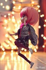 Dare (Au Aizawa) Tags: pullip lunarosa tokidoki hellcatpunks outfit rement shoes dance bokeh pink